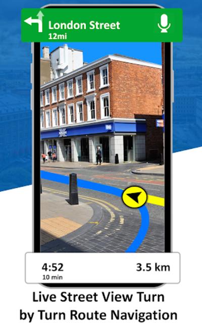 GPS Live Street View, Voice Route & Offline Maps screenshot 4