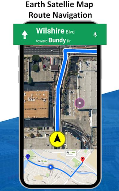 GPS Live Street View, Voice Route & Offline Maps screenshot 11