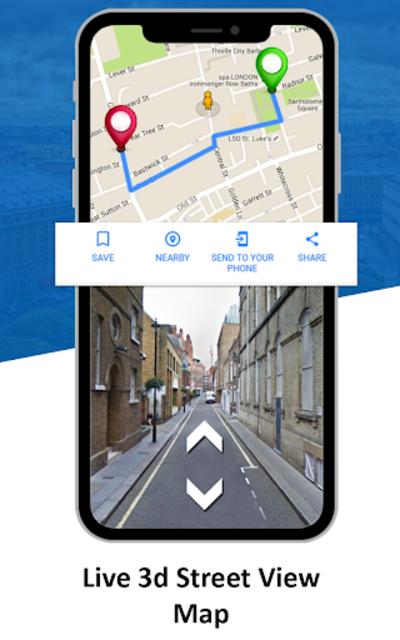 GPS Live Street View, Voice Route & Offline Maps screenshot 1
