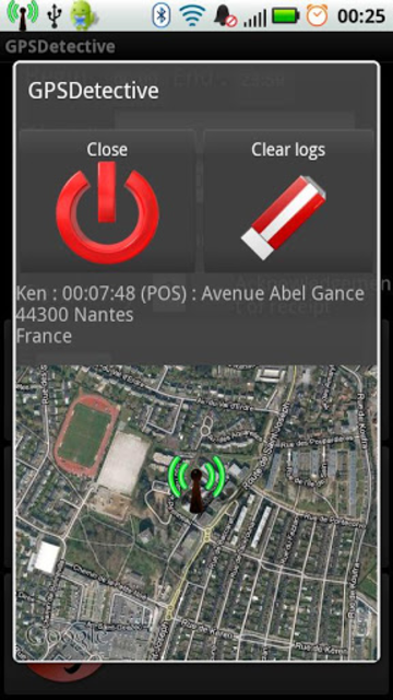 GPS Detective screenshot 2