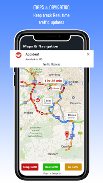 Live GPS Maps 2019 - GPS Navigation Driving Guide screenshot 2