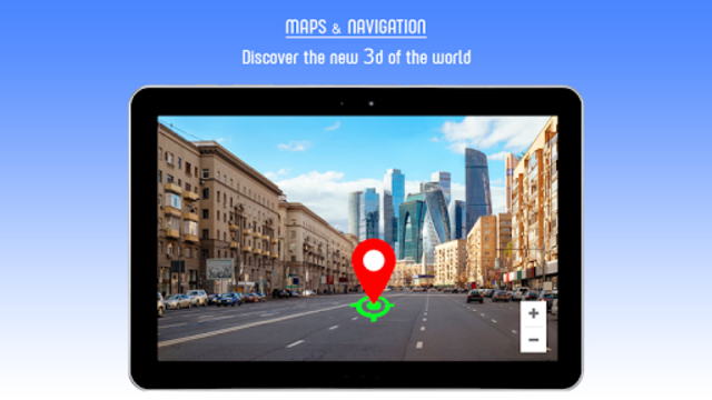 Live GPS Maps 2019 - GPS Navigation Driving Guide screenshot 4