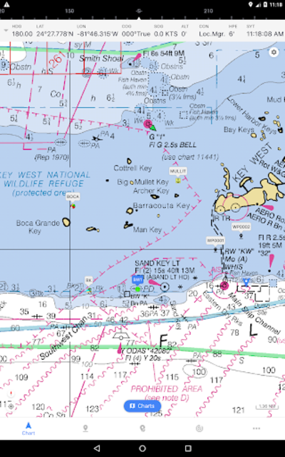 iNavX - Sailing & Boating Navigation, NOAA Charts screenshot 17