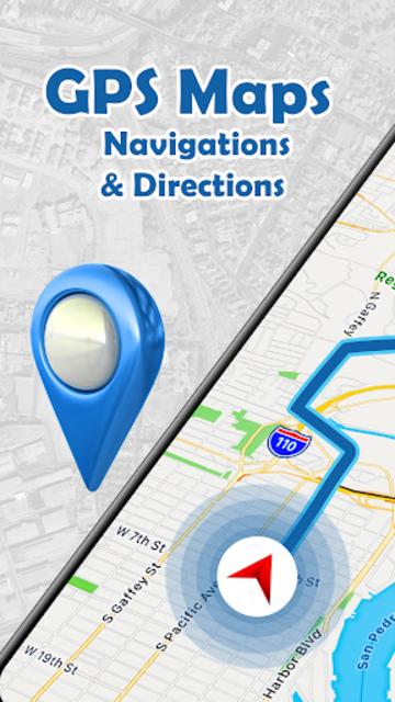 GPS , Maps, Navigations & Directions screenshot 1