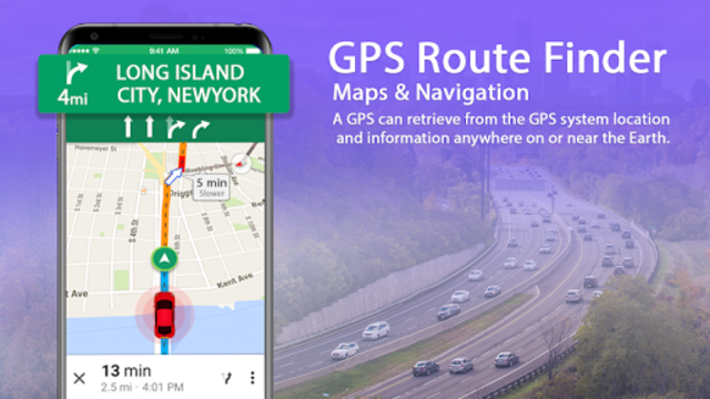 GPS Route Finder App: Directions, Navigation Maps screenshot 1