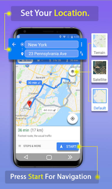 GPS Route Finder App: Directions, Navigation Maps screenshot 3