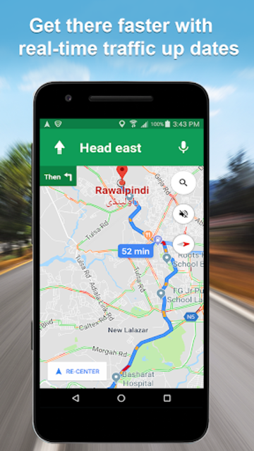 Maps GPS Navigation Route Directions Location Live screenshot 2