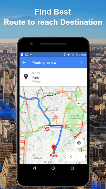 Maps GPS Navigation Route Directions Location Live screenshot 6