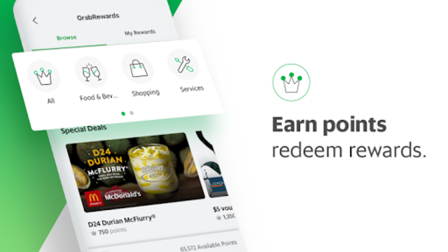 Grab - Transport, Food Delivery, Payments screenshot 7