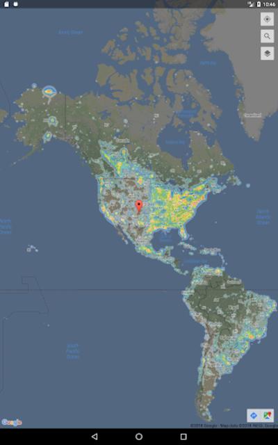 Dark Sky Map screenshot 7