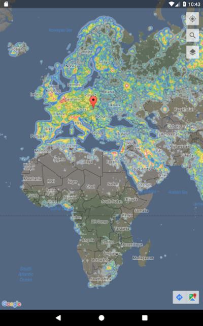Dark Sky Map screenshot 9