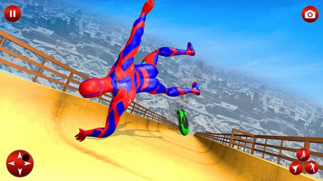 Superhero Robot Speed Hero screenshot 1