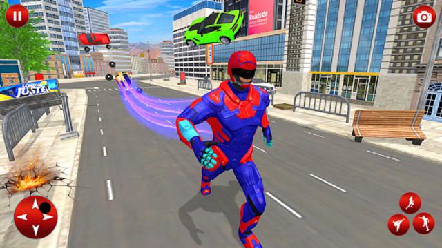 Superhero Robot Speed Hero screenshot 2
