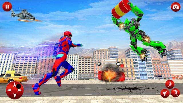 Superhero Robot Speed Hero screenshot 4