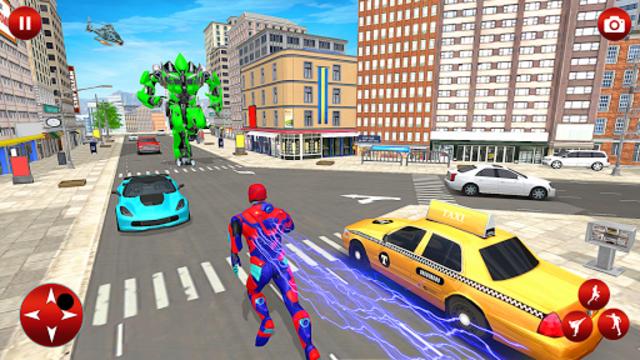 Superhero Robot Speed Hero screenshot 5