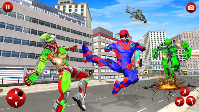 Superhero Robot Speed Hero screenshot 6