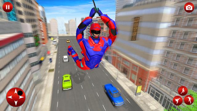 Superhero Robot Speed Hero screenshot 9