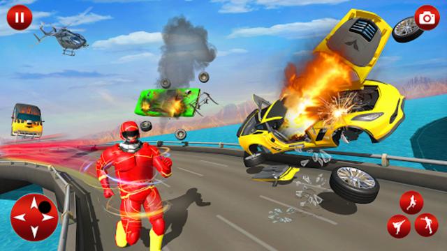 Superhero Robot Speed Hero screenshot 18