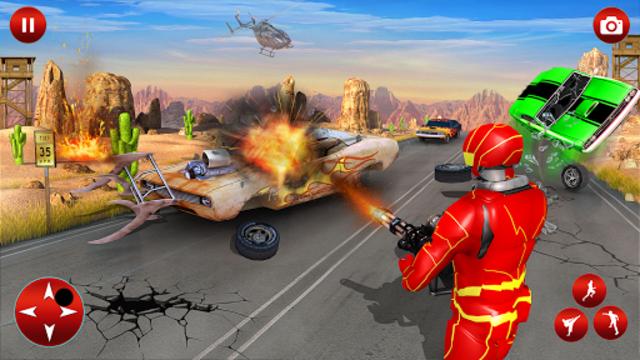 Superhero Robot Speed Hero screenshot 20