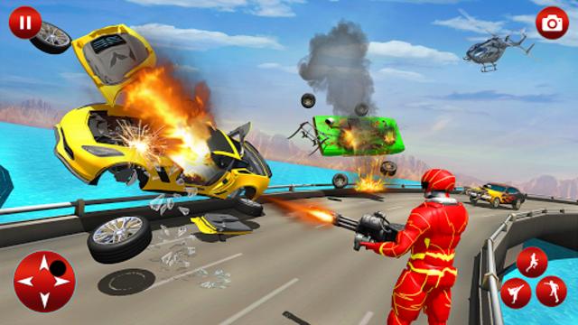 Superhero Robot Speed Hero screenshot 22