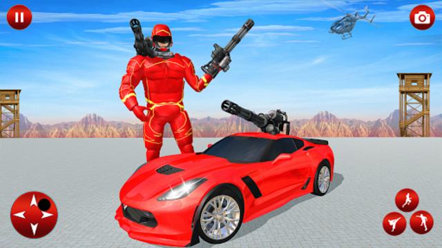 Superhero Robot Speed Hero screenshot 23