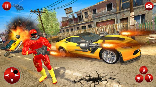Superhero Robot Speed Hero screenshot 24