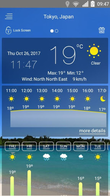Weather forecast screenshot 17