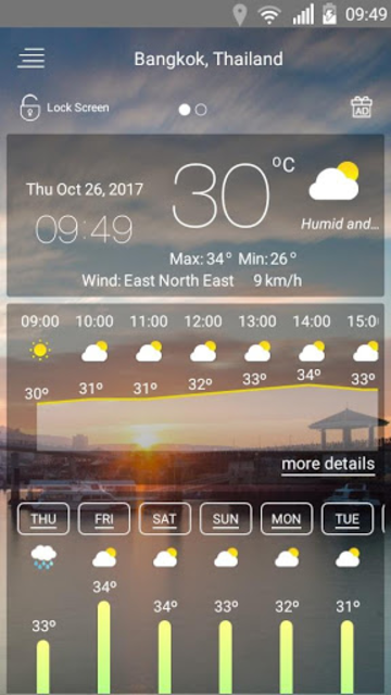 Weather forecast screenshot 19