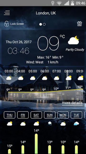 Weather forecast screenshot 20