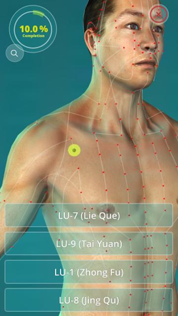 Acupuncture Quiz 3D - human screenshot 1