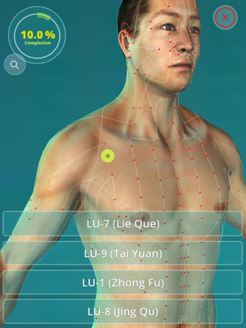 Acupuncture Quiz 3D - human screenshot 5
