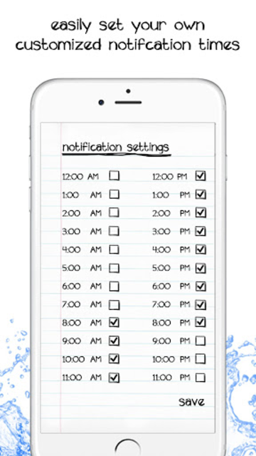 Simple Daily Water Tracker- Fun Hydration Reminder screenshot 5
