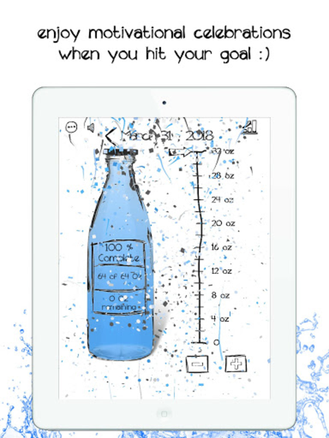 Simple Daily Water Tracker- Fun Hydration Reminder screenshot 7