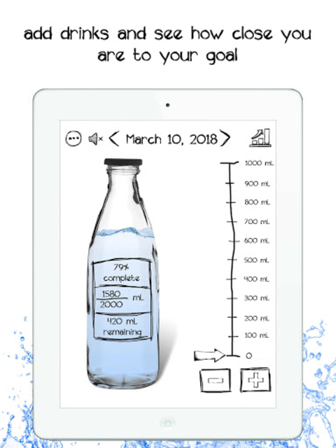 Simple Daily Water Tracker- Fun Hydration Reminder screenshot 9