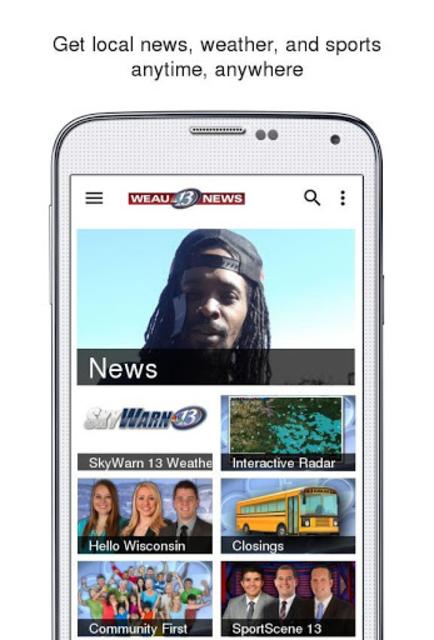 WEAU 13 News screenshot 1
