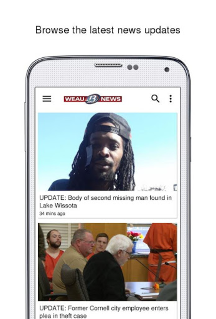 WEAU 13 News screenshot 2