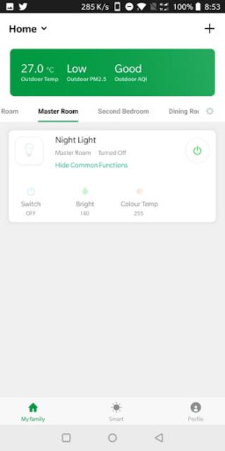 Green Dot Smart Home screenshot 1
