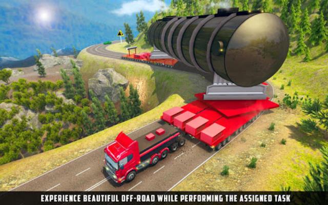 Oversized Load Cargo Truck Simulator 2019 screenshot 1