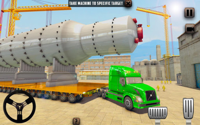 Oversized Load Cargo Truck Simulator 2019 screenshot 3