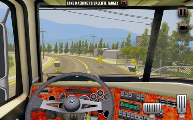 Oversized Load Cargo Truck Simulator 2019 screenshot 5
