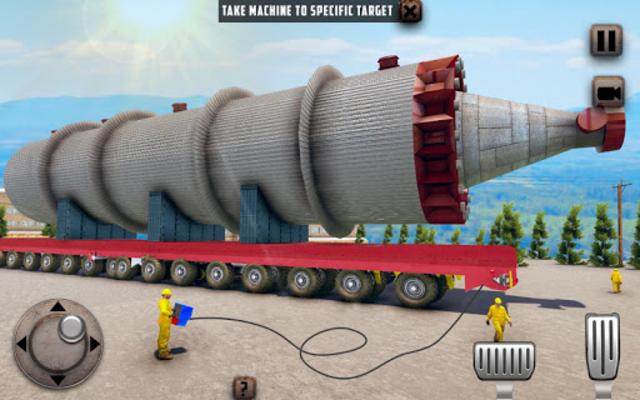 Oversized Load Cargo Truck Simulator 2019 screenshot 6