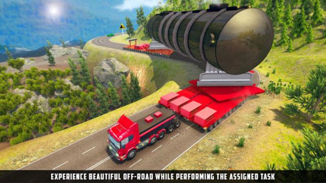 Oversized Load Cargo Truck Simulator 2019 screenshot 7