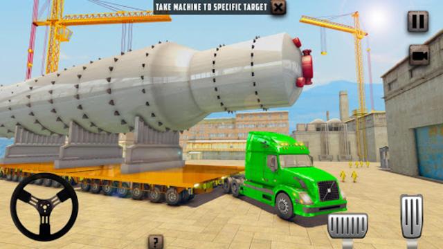 Oversized Load Cargo Truck Simulator 2019 screenshot 9