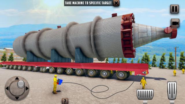 Oversized Load Cargo Truck Simulator 2019 screenshot 12