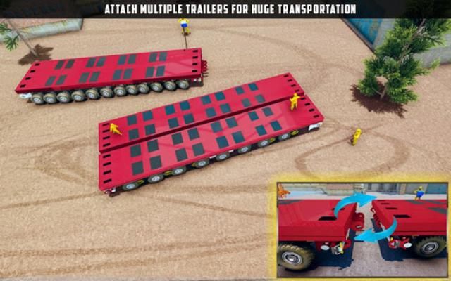 Oversized Load Cargo Truck Simulator 2019 screenshot 14