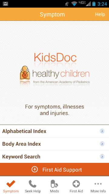 KidsDoc screenshot 1