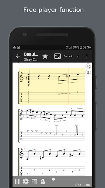 GuitarTab - Tabs and chords screenshot 2