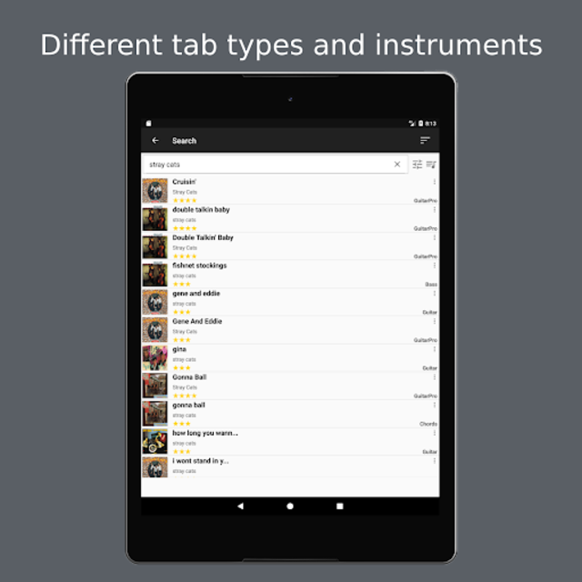 GuitarTab - Tabs and chords screenshot 8