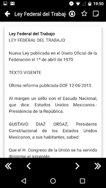 LFT 2019 - Ley Federal del Trabajo screenshot 3
