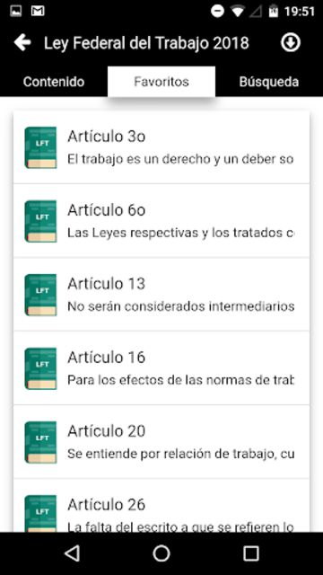 LFT 2019 - Ley Federal del Trabajo screenshot 4